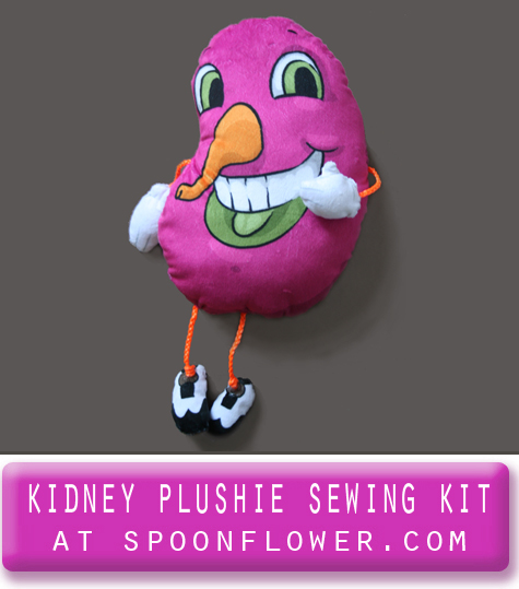 kidhey plush plushie sewing kit
